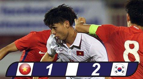 Kết quả, tường thuật U23 Việt Nam 1-2 U23 Hàn Quốc, VCK U23 châu Á 2018