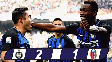 Inter 2-1 Bologna: Rút cuộc cũng thắng
