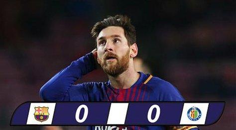 Barca 0-0 Getafe: Tự bắn vào chân mình