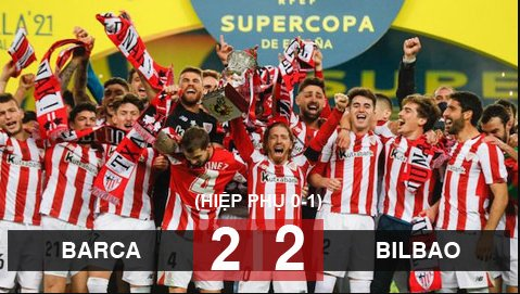 Barca 2-3 Athletic Bilbao