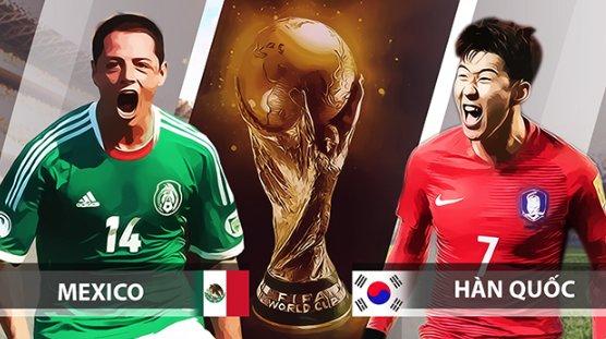 www.123raovat.com: Báo 388 đưa tin: 23/06 22:00 Mexico vs Hàn Quốc: Xơi tái